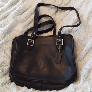 Coach Small Black Shoulder Bag